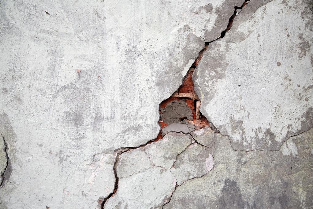 Effritement type d'un mur